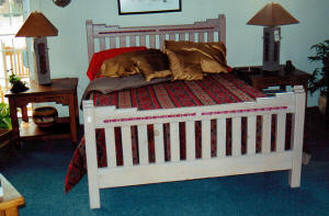 Southwest Furniture, New Mexico King Size Bed