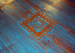 Picos Dining Table Top Detail