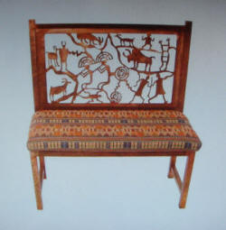 Petroglyph Bench By Sonoran Designs