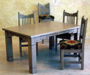 Marvelous Santa Fe Dining Set Standard Design.