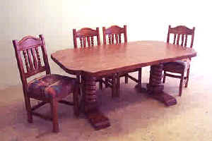 Southwest dining furniture sets chairs china cabinets for Southwest furniture las vegas nv
