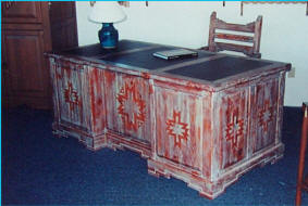 Zuni Custom Executive Desk 1