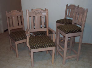 Zuni Southwest Dining Chairs & Stools