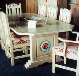Anasazi Dining Set In Original Colors
