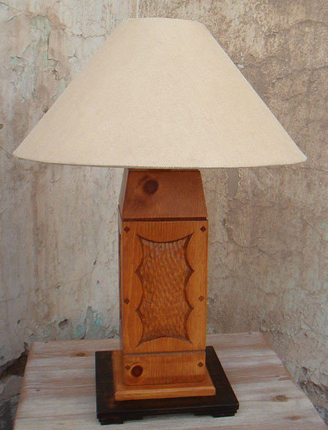 Aurora special custom wood table lamp great southwest table lamp mozeypictures Gallery