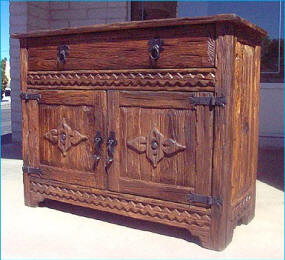 Weathered Wood Style Cabinet, Bottom Part