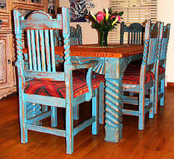 "Great Southwest Dining Set ""Sutherland"""