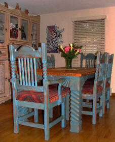 "Great Southwest Sand Dining Set ""Sutherland"""