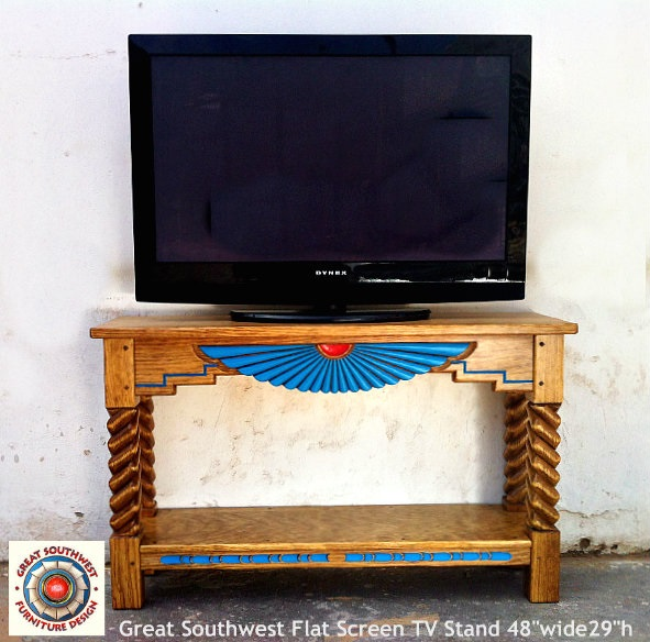 Great Southwest Flat screen TV Stand