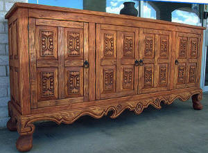 Old World Buffet-Cabinet