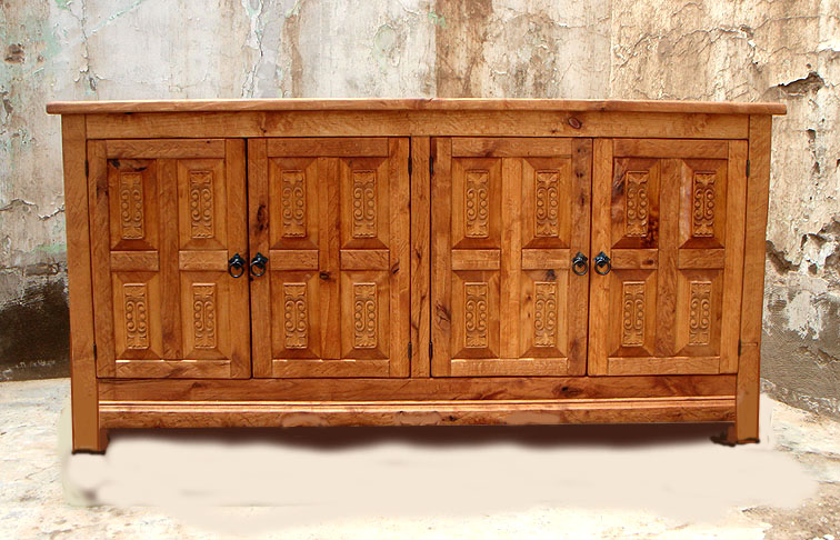 Old World Buffet Cabinet Plasma Tv Stand