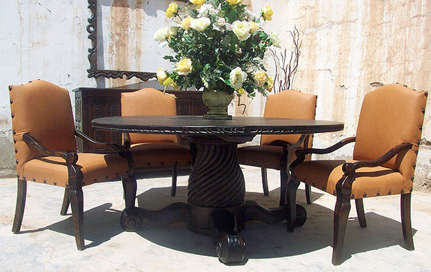 Old World Style Dining Sets, Tables, Chairs, Buffets
