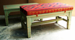 Picos Bench With Cushion