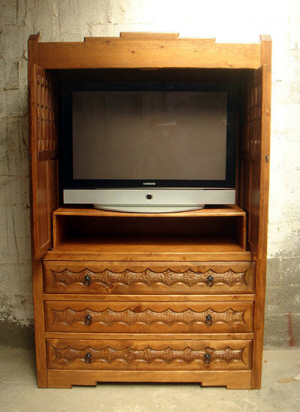 San Jose, Southwest Flat Screen TV Cabinet
