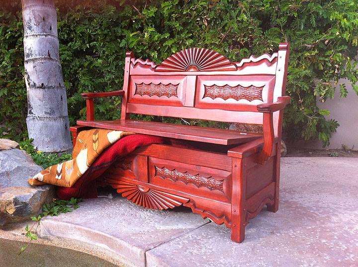 Southwest Benches Custom Southwestern Benches