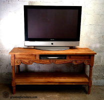 Old World Flat Screen TV Stands