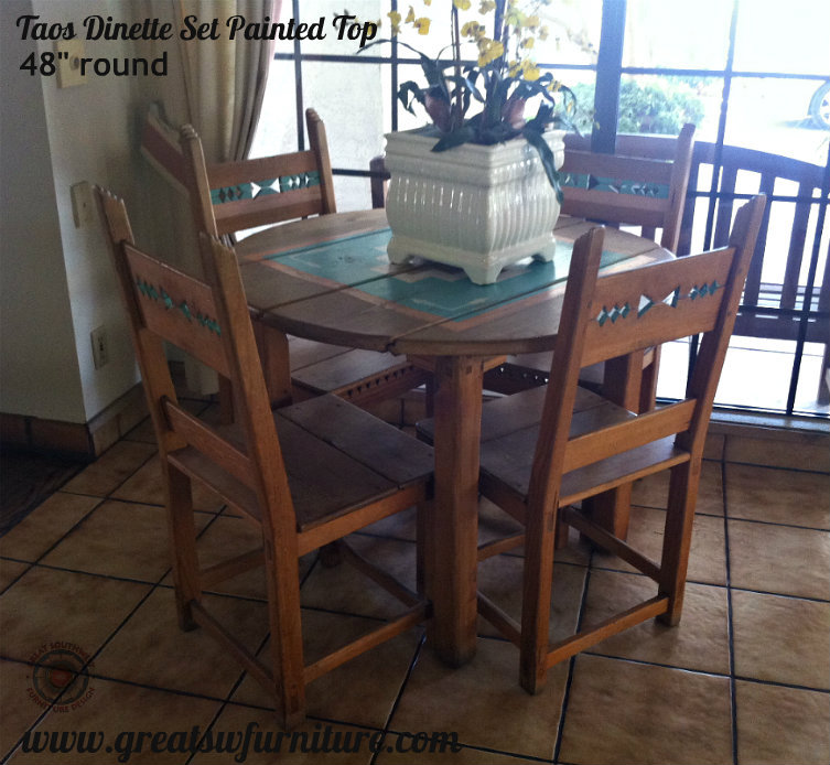Southwest Taos Dinette Set