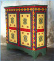 Southwest Cabinet With Accent Paint