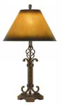 Wrought Iron Table Lamp 309-TB
