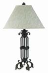 Odessa Wrought Iron Table Lamp 611-TB