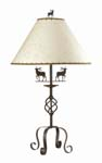 Iron Table Lamp 667-TB