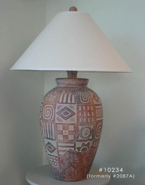 - Mesa, Southwest Style Table Lamp
